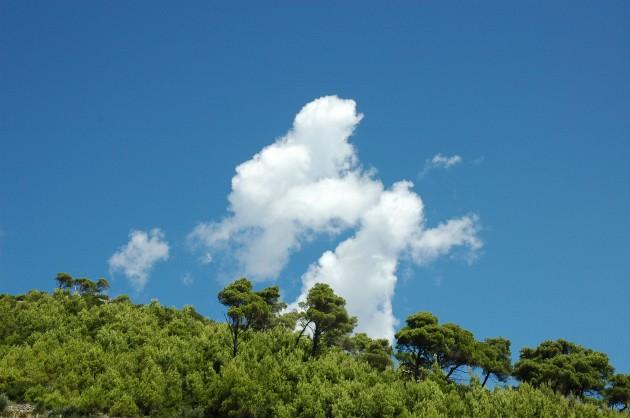 Ciel bleu, Exonido, été,