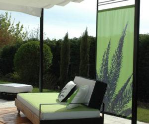 lit de sieste, exonido, zenitude, coussins de jardin, mobilier d'exterieur,