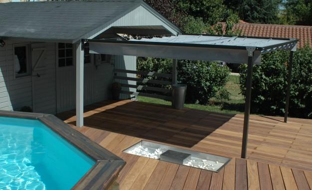 exonido pergolas sur mesure am nagement de terrasse. Black Bedroom Furniture Sets. Home Design Ideas