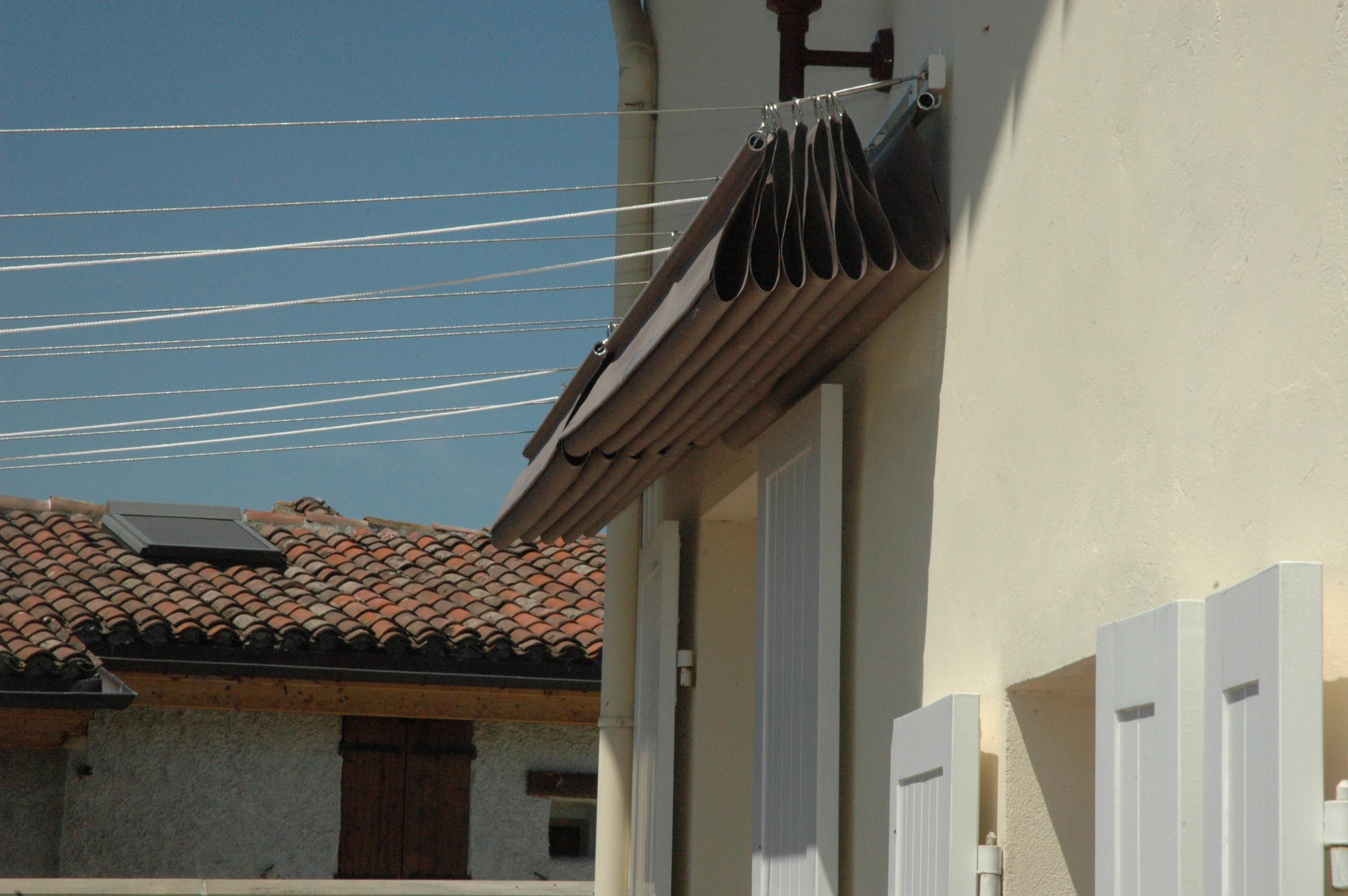 Abriter du soleil une terrasse vent e et plein sud - Protege soleil terrasse ...
