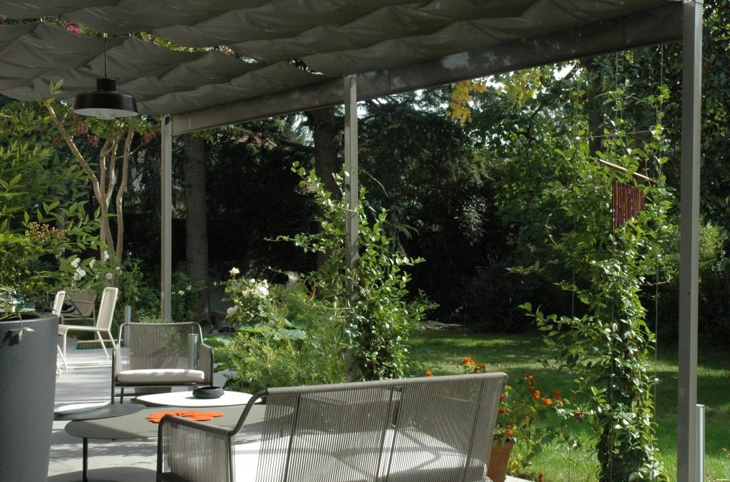 pergola v g tale plantes grimpantes et design. Black Bedroom Furniture Sets. Home Design Ideas