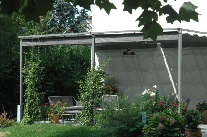 pergola acier sur mesure l 39 originale design sobre. Black Bedroom Furniture Sets. Home Design Ideas