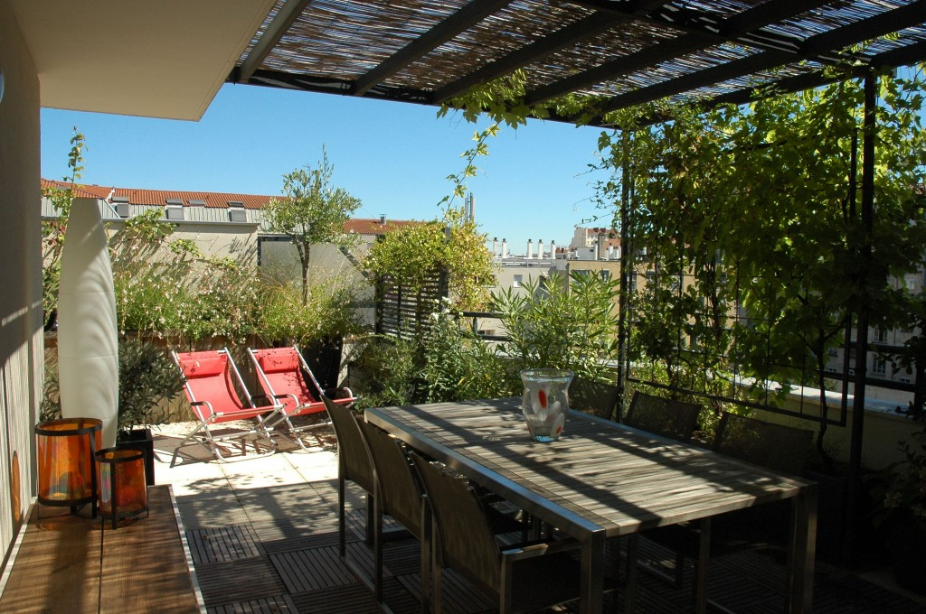 D couvrez nos id es pour am nager une terrasse en ville - Amenager terrasse d appartement ...