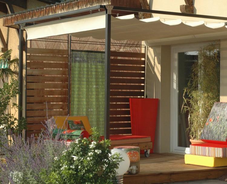 brise vue sur mesure. Black Bedroom Furniture Sets. Home Design Ideas