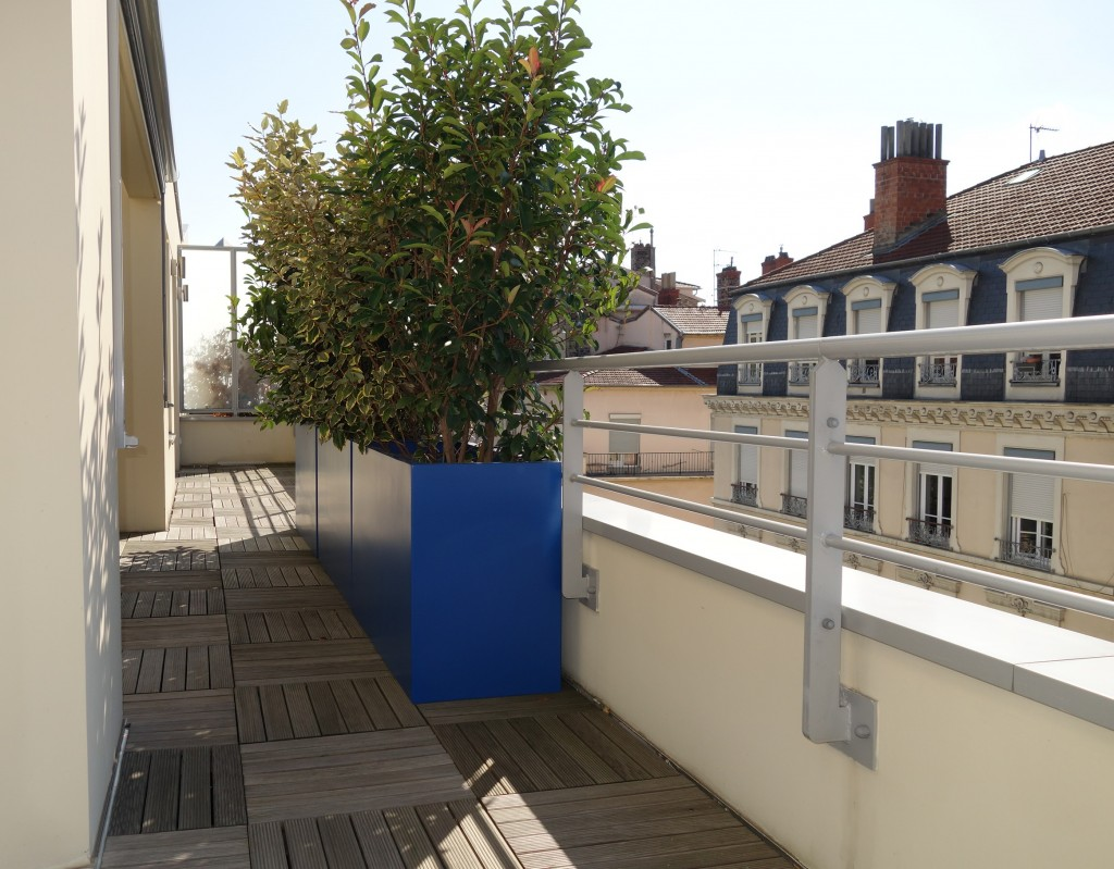 Jardinière idéale design pour balcons et terrasses