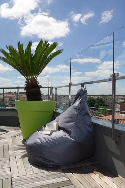 Coupe Vent terrasse transparent-Exonido-Lyon