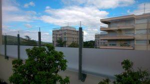 Coupe vent terrasse-Exonido-Caluire