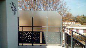 Coupe vent terrasse transparent-Exonido-Avignon
