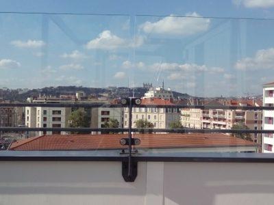 Optez Pour Un Pare Vent Terrasse Transparent Sur Mesure
