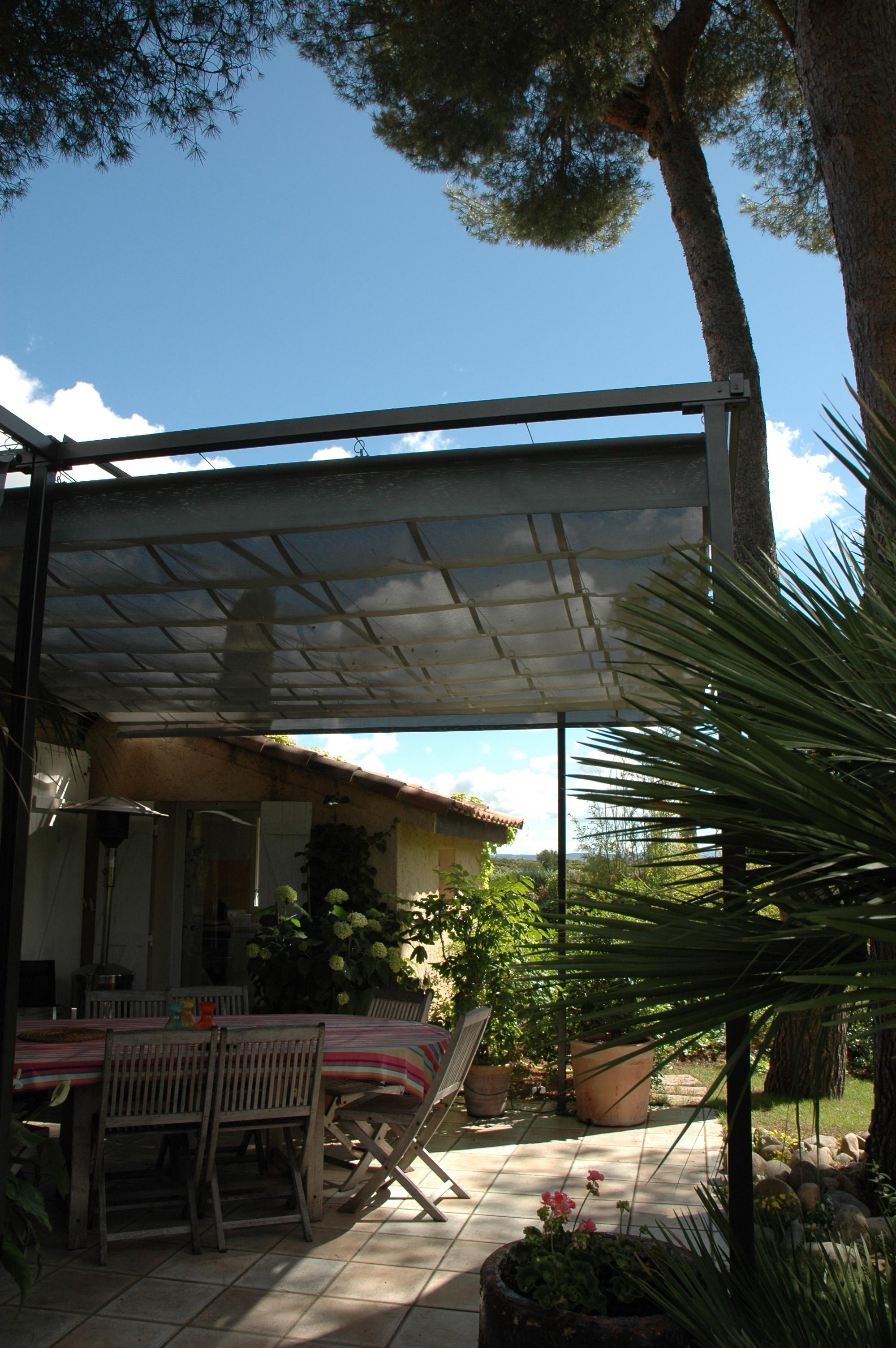 Pergola Aix-Calas, design Exonido